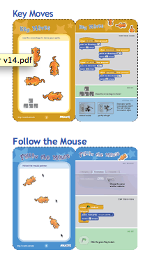 Scratch - Instruction cards available from website